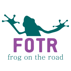 Frog on the Road